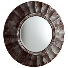 Buy Cyan Design 35 Inch Round Zynga Mirror on sale online