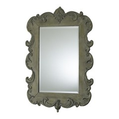 Buy Cyan Design 35x24.25 Vintage French Mirror in Silver on sale online