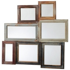 Buy Cyan Design 36x37.5 Oakville Mirror in Multicolor on sale online