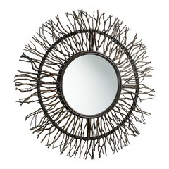 Buy Cyan Design 38 Inch Round Branch Round Mirror in Brown on sale online