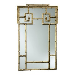 Buy Cyan Design 38x23 Bamboo Wall Mirror on sale online