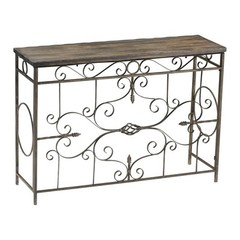 Buy Cyan Design 42.5x13 Inch Schafer Iron Console Table on sale online