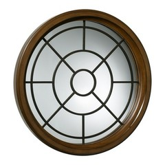 Buy Cyan Design 42 Inch Round Grid Wall Mirror on sale online