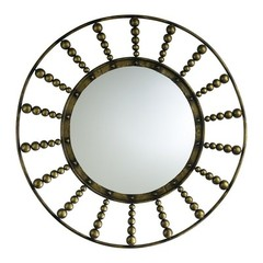 Buy Cyan Design 45 Inch Round Oliver Mirror in Gold on sale online