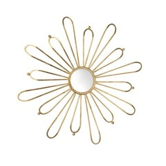 Buy Cyan Design 48 Inch Round Cleopatra Mirror in Gold on sale online