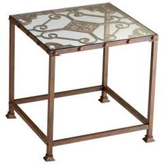 Buy Cyan Design Alamosa Square 24x24 Side Table in Rust on sale online