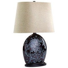 Buy Cyan Design Athens Lamp in Bronze and Blue on sale online