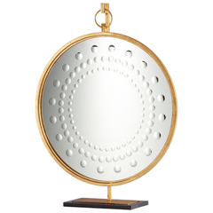 Buy Cyan Design Beverly 38.75x29 Mirror on Stand in Gold on sale online