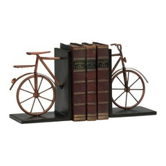 Buy Cyan Design Bicycle Bookends in Muted Rust (Set of 2) on sale online