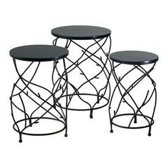 Buy Cyan Design Branch Drum Accent Tables (Set of 3) on sale online