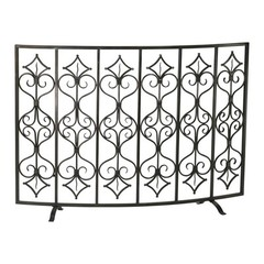 Buy Cyan Design Casablanca Fire Screen in Bronze on sale online