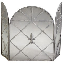 Buy Cyan Design Caswell Fire Screen in Grey on sale online