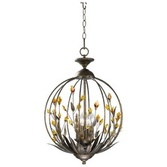 Buy Cyan Design Chandelier in Autumn Dusk with Amber on sale online