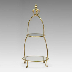 Buy Cyan Design Crowned Two Tier Stand on sale online