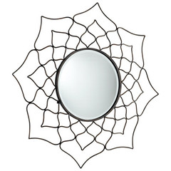 Buy Cyan Design Dahlia 36 Inch Round Mirror on sale online