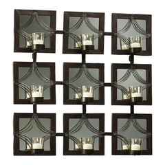 Buy Cyan Design Decorative Designed Mirror Candleholder on sale online