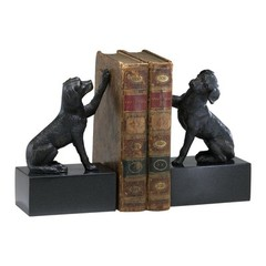 Buy Cyan Design Dog Bookends in Black (Set of 2) on sale online