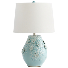Buy Cyan Design Eire Table Lamp in Sky Blue Glaze on sale online