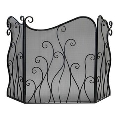 Buy Cyan Design Evalie Fire Screen in Bronze on sale online