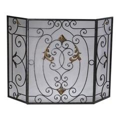 Buy Cyan Design French Fire Screen in Rust on sale online
