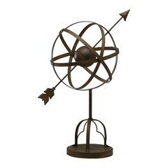 Buy Cyan Design Galileo Stand in Aged Rust Sculpture on sale online
