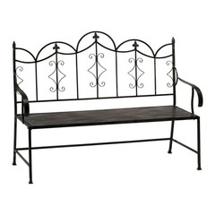 Buy Cyan Design Garden Settee Bench in Black on sale online