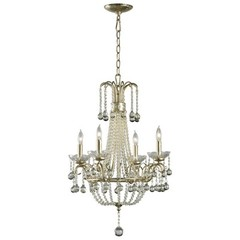 Buy Cyan Design Genevieve Chandelier in Silver Leaf on sale online