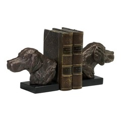 Buy Cyan Design Hound Dog Bookends in Bronze (Set of 2) on sale online