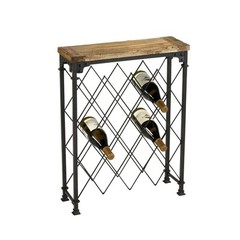 Buy Hudson Wine Rack in Rustic on sale online