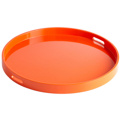 Buy Cyan Design Large Estelle Tray in Orange on sale online