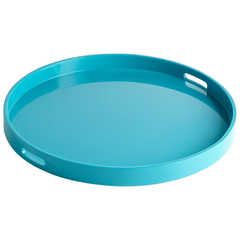 Buy Cyan Design Large Estelle Tray in Blue on sale online