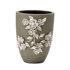 Buy Cyan Design Large Lucy Planter in Smoked Grey on sale online