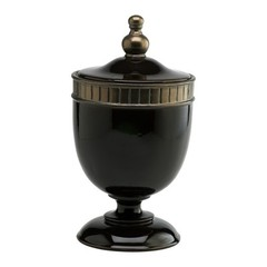 Buy Cyan Design Large Nicola Urn in Brown and Gunmetal on sale online