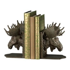 Buy Cyan Design Moosehead Bookends in Bronze (Set of 2) on sale online
