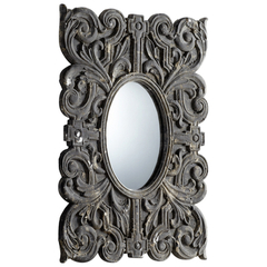 Buy Cyan Design Mull 24.75x17.25 Mirror in Grey on sale online