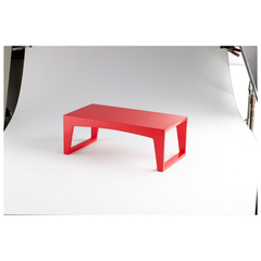 Buy Cyan Design Perkins Pedestal in Chinese Red Lacquer on sale online