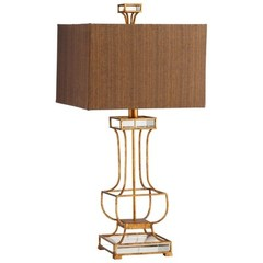 Buy Cyan Design Pinkston Table Lamp in Gold Leaf on sale online