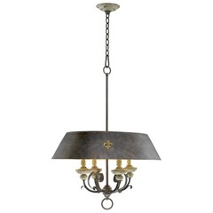 Buy Cyan Design Provence Four Lamp Pendant in Brown on sale online