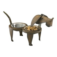 Buy Cyan Design Rex Pet Feeder in Brown on sale online