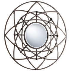 Buy Cyan Design Robles 39 Inch Round Mirror in Autumn Rust on sale online