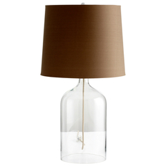 Buy Cyan Design See Through Table Lamp Number 2 in Clear on sale online