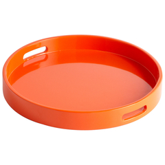 Buy Cyan Design Small Estelle Tray in Orange on sale online