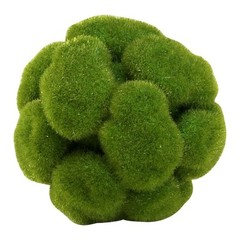 Buy Cyan Design Small Moss Sphere in Moss Green on sale online