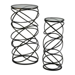 Buy Cyan Design Spiral Accent Tables (Set of 2) on sale online