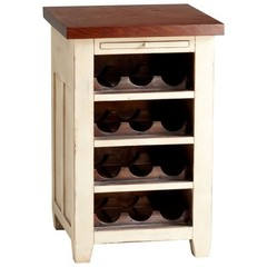 Buy Cyan Design Winsome Wine Cabinet in White on sale online