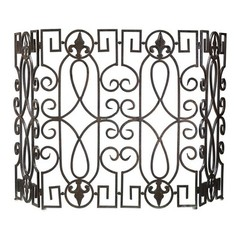 Buy Cyan Design Wrought Iron Fire Screen on sale online
