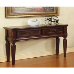 Buy Steve Silver Davina 50x18 Sofa Table in Rich Cherry on sale online