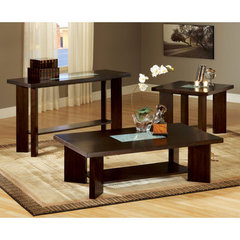 Buy Steve Silver Delano 3 Piece Occasional Table Set in Rich Espresso on sale online