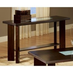 Buy Steve Silver Delano 52x18 Sofa Table in Rich Espresso on sale online