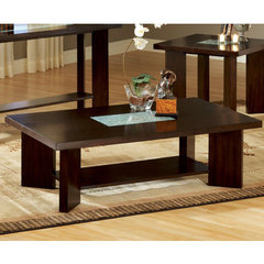 Buy Steve Silver Delano 52x30 Cocktail Table in Rich Espresso on sale online